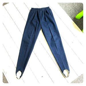 80's Vtg stirrup Jeans